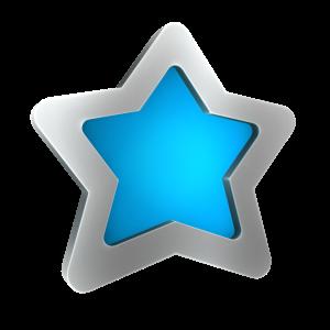 Blauwe ster