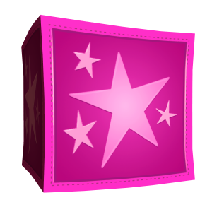 Roze doos